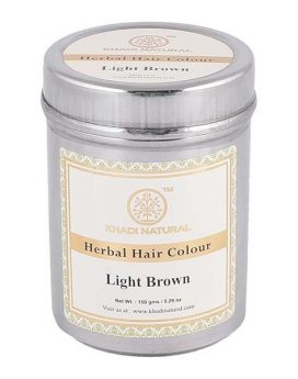 Khadi Natural Light Brown Henna 150g