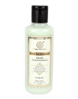 Khadi-Natural-Green-Tea-&-Aloevera-Hair-Conditioner
