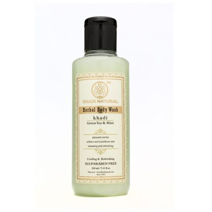 Khadi Natural Green Tea & Mint Body Wash Buy Online in Dubai