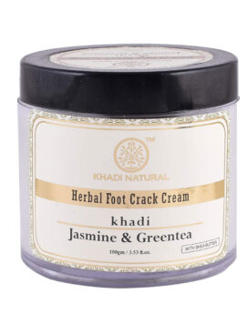 Khadi Natural Jasmine and Green Tea Herbal Foot Crack Cream