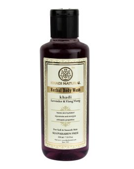 Khadi Natural Lavender & Ylang Ylang Body Wash
