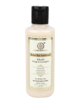 Khadi-Natural-Orange-&-Lemongrass-Hair-Conditioner