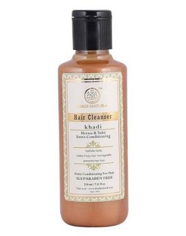 Khadi Natural Henna Tulsi Extra Conditioning 210ml Buy in Dubai Online