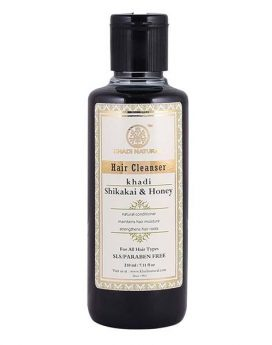Khadi Natural Shikakai & Honey Hair Cleanser 210ml