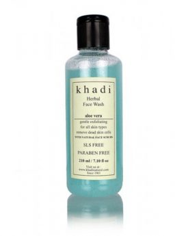 Khadi Natural Aloe Vera Face Wash with scrub