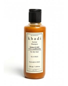 Khadi Natural Henna & Tulsi Extra Conditioning