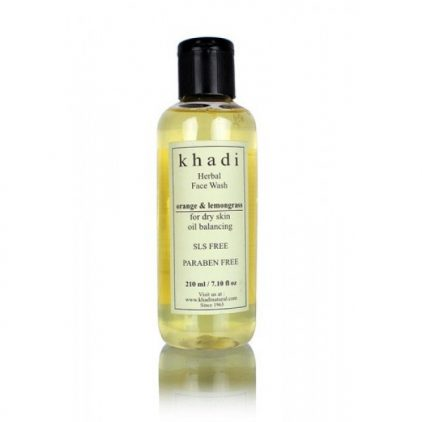 Khadi-Natural-Orange-Lemongrass-Face-Wash-buy-in-dubai