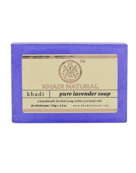 Khadi-Natural-Pure-Lavender-Soap