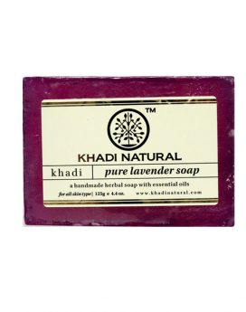 Khadi Natural Pure Lavender Soap 125g