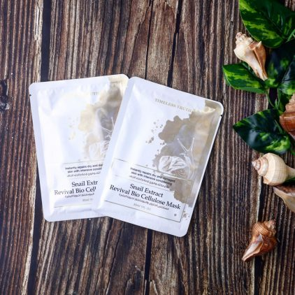 Snail Extract Revival Bio Cellulose Mask-5pcs