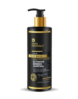 Khadi-Organique-Active-Bamboo-Charcoal-Face-Wash