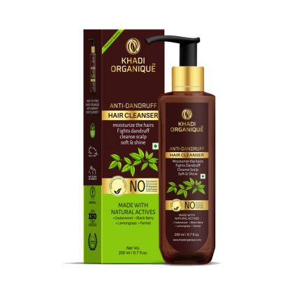 Khadi-Organique-Anti-Dandruff-Hair-Cleanser-with-Curry-leaf