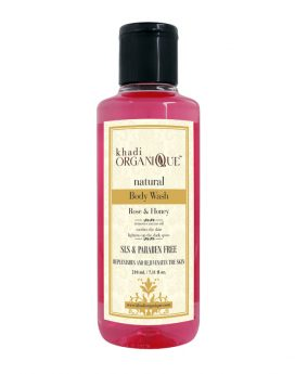 Khadi-Organique-Rose-and-Honey-Body-Wash-online-price-in-uae