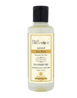 Khadi-Organique-neem-tea-tree-face-wash