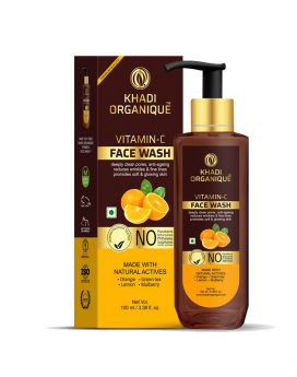 Khadi-Organique-vitamin-c-face-wash-in-dubai